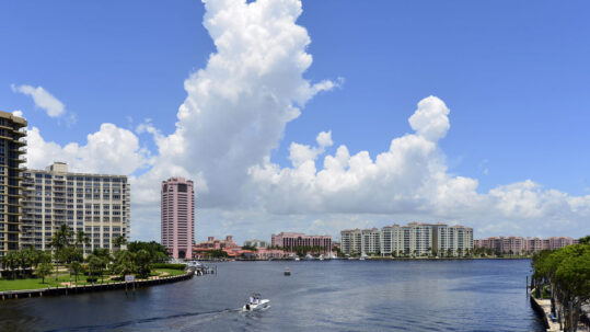 condominiums at Boca Bayou